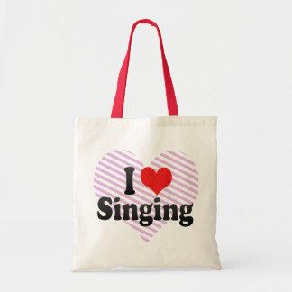 私は歌うことを愛します トートバッグ