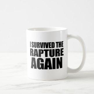 私は歓喜を再度生き延びました コーヒーマグカップ