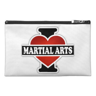 私は武道を愛します トラベルアクセサリーバッグ