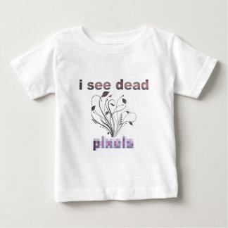 私は死んだピクセルを見ます ベビーTシャツ