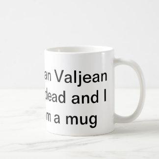 私は死んでいますvaljeanジーンを信じることができません コーヒーマグカップ