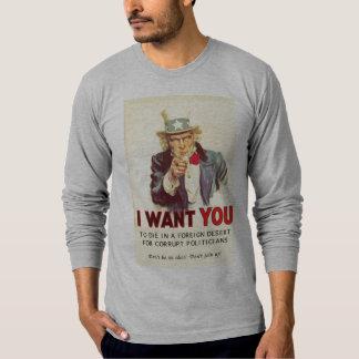 私は死んでほしいです Tシャツ