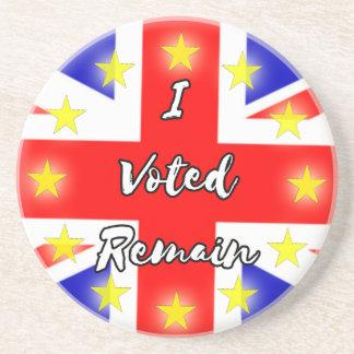 私は残ります歴史に投票しました コースター