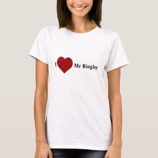 私は氏を愛しますBingley Tシャツ