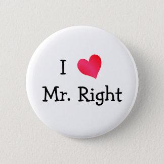 私は氏Rightを愛します 5.7cm 丸型バッジ