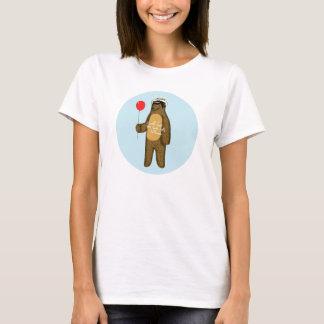 私は気球によって魅惑します Tシャツ