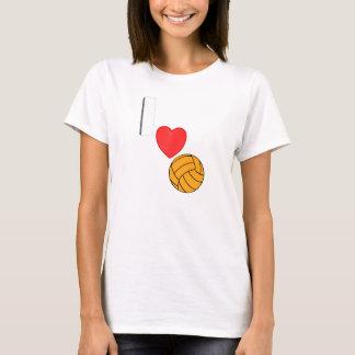 私は水球を愛します Tシャツ