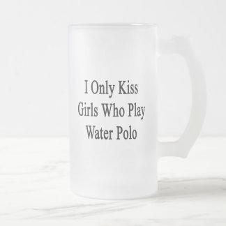私は水球を遊ぶ女の子だけに接吻します フロストグラスビールジョッキ