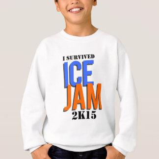 私は氷の込み合い2K15を生き延びました スウェットシャツ