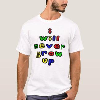 私は決して人のTシャツを育ちません Tシャツ