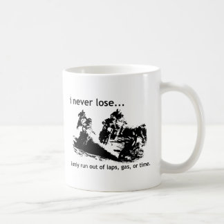 私は決して土のバイクのモトクロスのマグを失いません コーヒーマグカップ