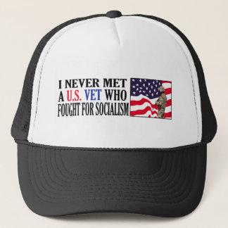 私は決して社会主義のために戦った米国の獣医に会いませんでした キャップ