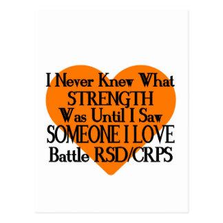 私は決して…誰かをI愛… RSD/CRPS知りませんでした ポストカード