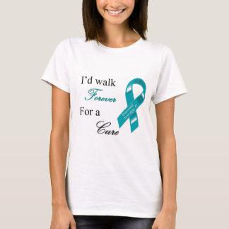 私は治療のTシャツのために永久に歩きます Tシャツ