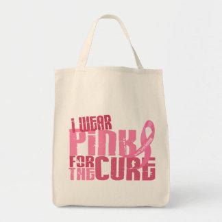 私は治療6.4の乳癌のためのピンクを身に着けています トートバッグ