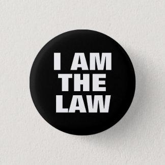 私は法律です 3.2CM 丸型バッジ