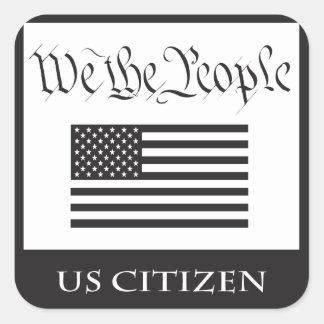 私は法的市民です。 ありますか。 スクエアシール