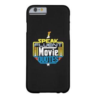 私は流暢な映画引用文の電話箱を話します BARELY THERE iPhone 6 ケース