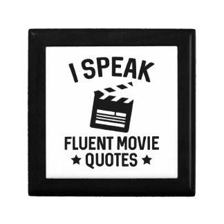 私は流暢な映画引用文を話します ギフトボックス