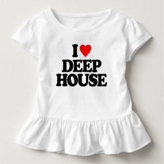 私は深い家を愛します トドラーTシャツ