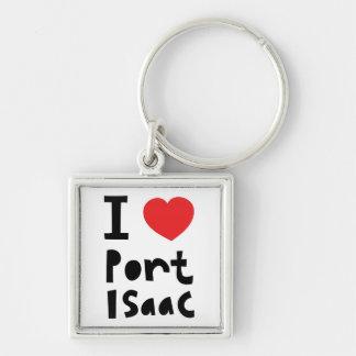 私は港アイザックを愛します キーホルダー