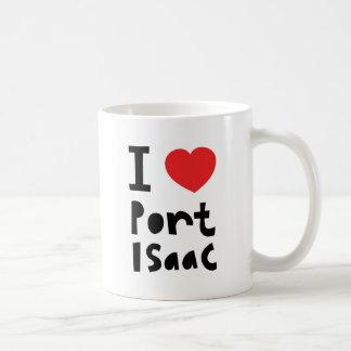 私は港アイザックを愛します コーヒーマグカップ