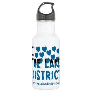 私は湖地区を愛します ウォーターボトル