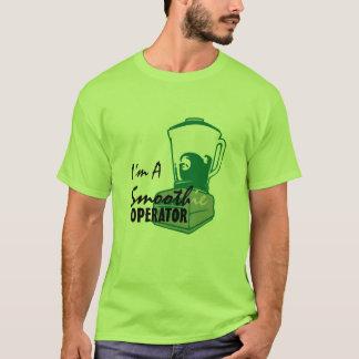私は滑らかな(ie)オペレータです tシャツ