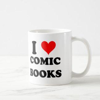 私は漫画本を愛します コーヒーマグカップ
