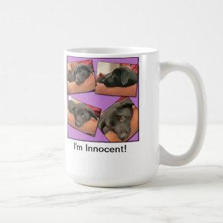 私は無実です コーヒーマグカップ