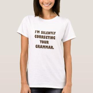 私は無言であります…. Tシャツ