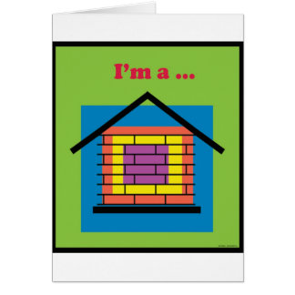私は煉瓦家です カード