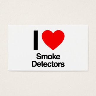 私は煙探知器を愛します 名刺