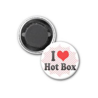 私は熱い箱を愛します マグネット
