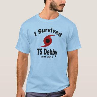 私は熱帯嵐Debbyを生き延びました Tシャツ