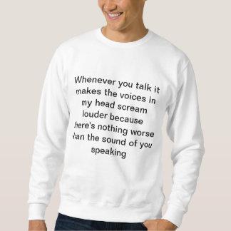 私は熱狂するです スウェットシャツ