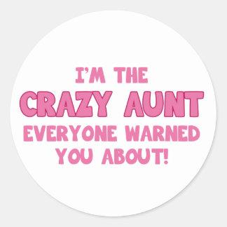 私は熱狂するなEveryone Warned About叔母さんのです ラウンドシール