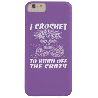 私は熱狂するの燃焼させるためにかぎ針で編みます BARELY THERE iPhone 6 PLUS ケース