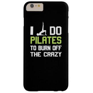私は熱狂するの燃焼させるためにPilatesをします Barely There iPhone 6 Plus ケース
