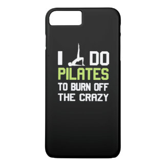 私は熱狂するの燃焼させるためにPilatesをします iPhone 8 Plus/7 Plusケース