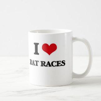私は熾烈な競争を愛します コーヒーマグカップ