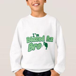 私は燃えたaz BROです スウェットシャツ