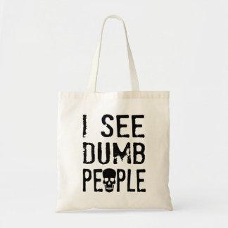 私は物の言えない人々に会います トートバッグ
