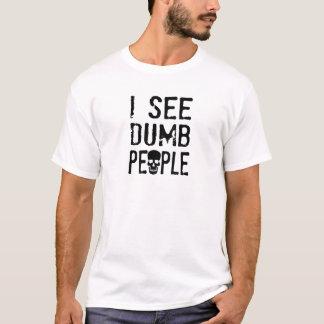 私は物の言えない人々に会います Tシャツ