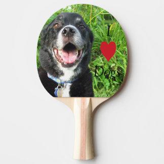 私は犬の卓球ラケットを愛します 卓球ラケット