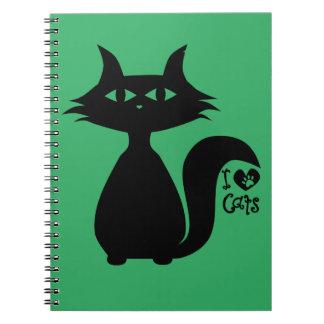 私は猫を愛します ノートブック