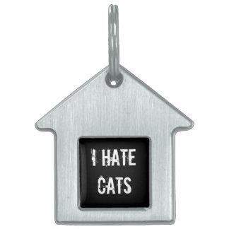 私は猫ペットラベルを憎みます ペットIDタグ