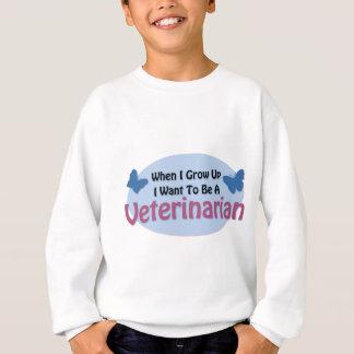 私は獣医になりたいと思います スウェットシャツ