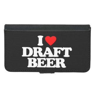 私は生ビールを愛します GALAXY S5 ウォレットケース