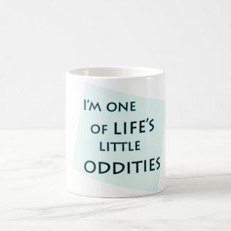 私は生命の小さい風変りのおもしろマグカップの1才です コーヒーマグカップ